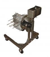 Engine starter stand