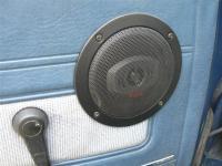 Low-pro speaker grilles