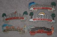 Florida license plate toppers