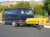vanagon and trailer