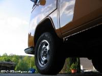"""new"" wheels on my 72 Baywindow"