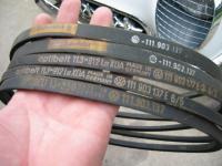 nos fan belts for 25hp