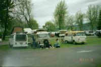 """Cruise for the CURE 2007 @ the STATE park """"SNOW-V"""" feeling welcome in WA state"""