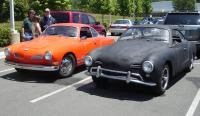 lbcnut's Ghia and my Ghia at the 2007 Charlotte Transporter show