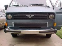 Eyelids on a Vanagon