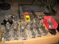 pieces of a 911 2,7l S engine