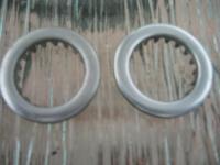 not original split heat trim rings touted as nos