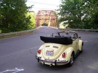 '69 Convertible at old steel bridge, Southbury/Newtown, CT town line.