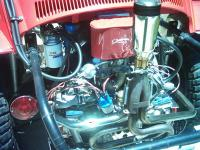 my engine with a 44 weber carb :)
