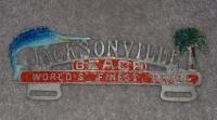 Jacksonville Beach Plate Topper