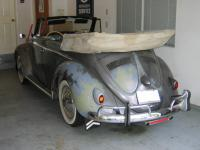 My '57 convertible-original paint (what's left of it)