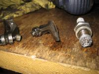 broken lifters and damaged spark