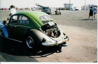 1954 oval green machine