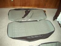 NOS material rear seat cover