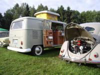 our 67 SO 42 Westy and the 52 split / okrasa at Bad Camberg 2007