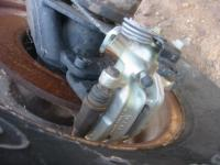Audi A-4 brakes on 3x3 Woods trailing arms