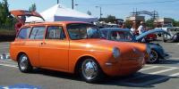 Chucks orange squareback