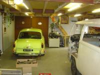 the new barn for our VW's