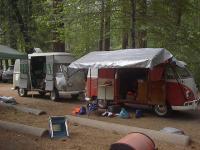 Split Bus Yosemite Camping Trip 2002
