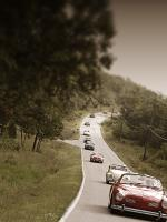 VWs touring the Ozarks.