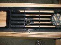 MINI Cooper grille badge holder