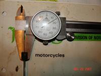 mic with 4mm feeler gauge