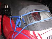 Mounting vert rear window