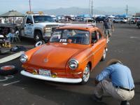 Orange Fastback