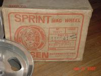 NOS Boxed 15x5 1/2 Ansen Sprint, Porsche Pattern 5x130