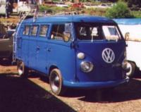 Stolen 1966 Blue Sundial Camper