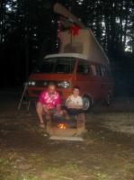 First Westy camping