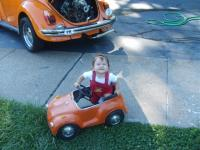 grandaughter has a passion for vw's already