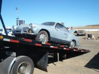 Ghia on tow truck