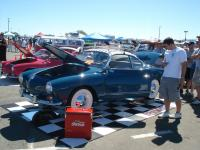 Blue Ghia with Judson supercharger