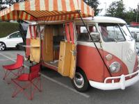 A camper from the Great Canadian VW '07