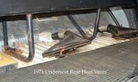 1971 Rear Underseat Heater Vent 1