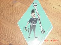 Hazet Toolman Sticker (Decal)