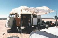 Camping near Glamis