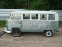 Cool junkyard bus