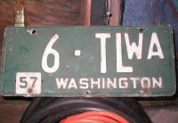 54 trailer plate with 57 tab