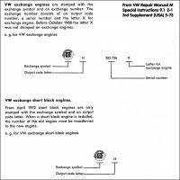 Crankcase markings II