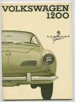 NOS 1965 Karmann Ghia Owners Manual