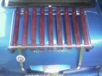 Fisnished decklid rack