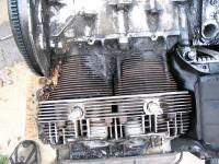 what happens when the engine seal degrades and you leak oil?