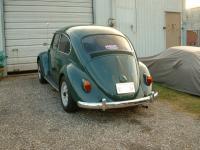 1966 Dark Green Beetle--details