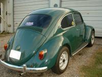 1966 Dark Green Beetle