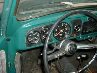 1966 Dark Green Beetle - Interior