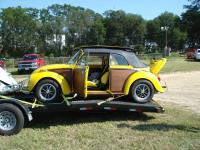 Woody Super Beetle Convertible