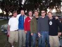Jax crew at Kips party
