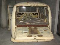 My new find.64' RHD Ambulance with safaris window.
